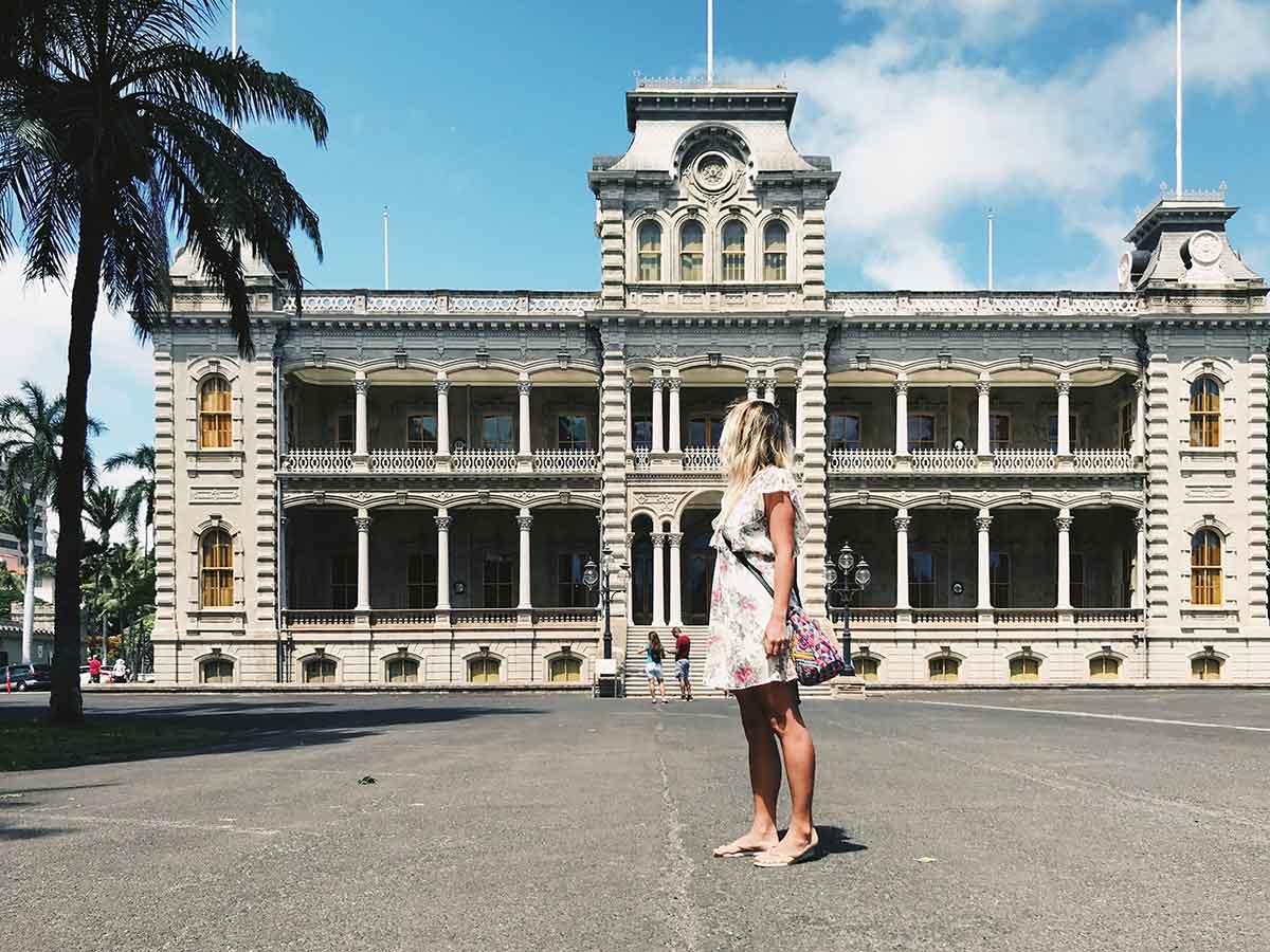 Iolani Palace Oahu